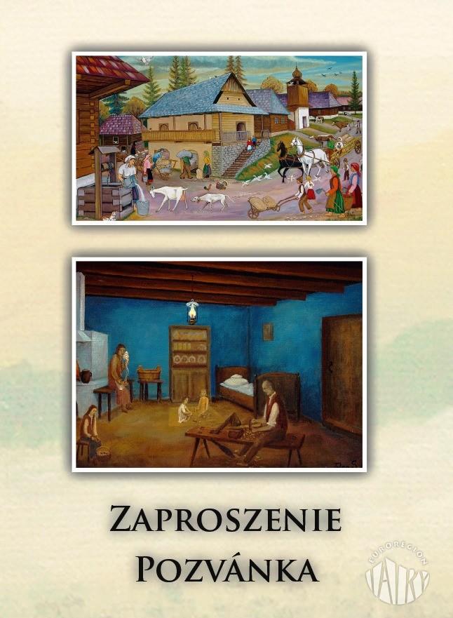 Zaproszenie na finisaż wystawy malarstwa Miroslava Potomy i Stefana Telepa
