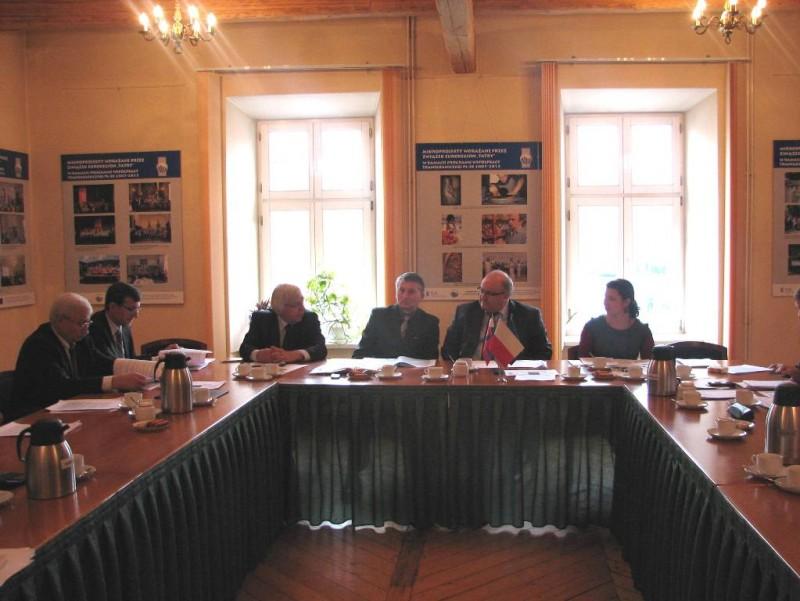"""Posiedzenie Rady Transgranicznego Związku Euroregion """"Tatry"""", Nowy Targ 21.11.2013 r."""