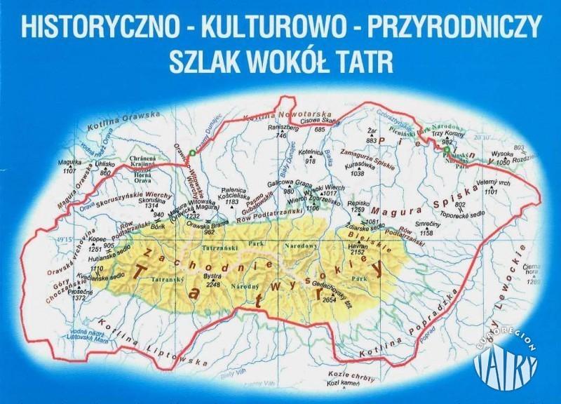 """Zwiększenie zakresu projektu pt. """"Historyczno-kulturowo-przyrodniczy szlak wokół Tatr"""""""