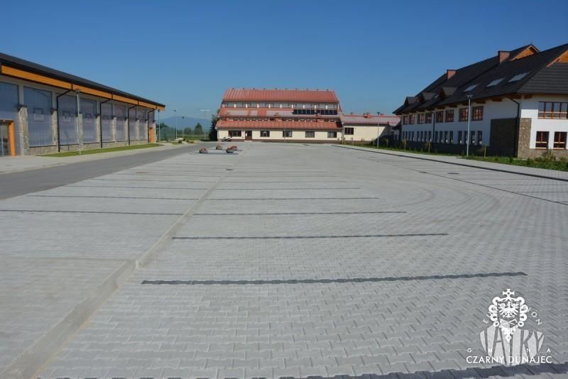 Parking dla użytkowników drogi rowerowej Szlaku wokół Tatr