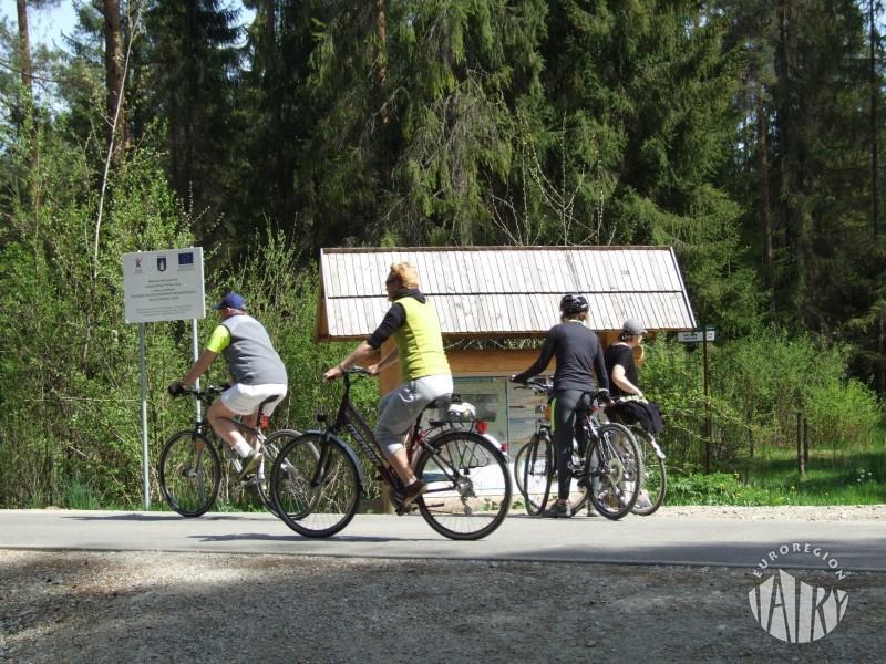 Wiosna na rowerze na Szlaku wokół Tatr