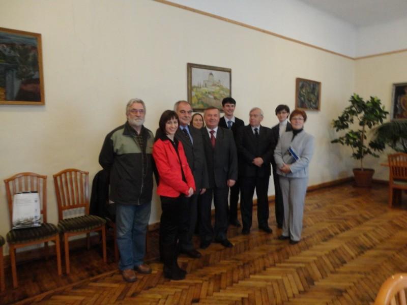 Wizyta w słowacko-węgierskim Europejskim Ugrupowaniu Współpracy Terytorialnej ISTER-GRANUM