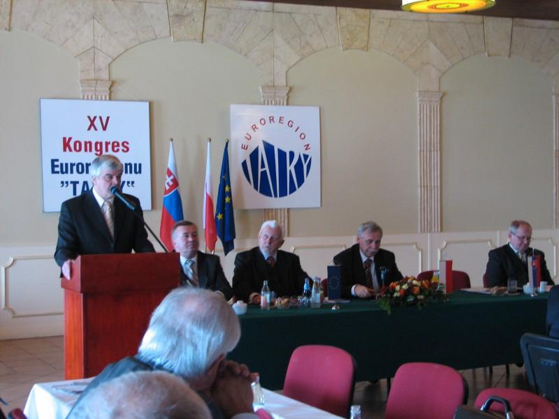 """XV Kongres Związku Euroregion """"Tatry"""""""