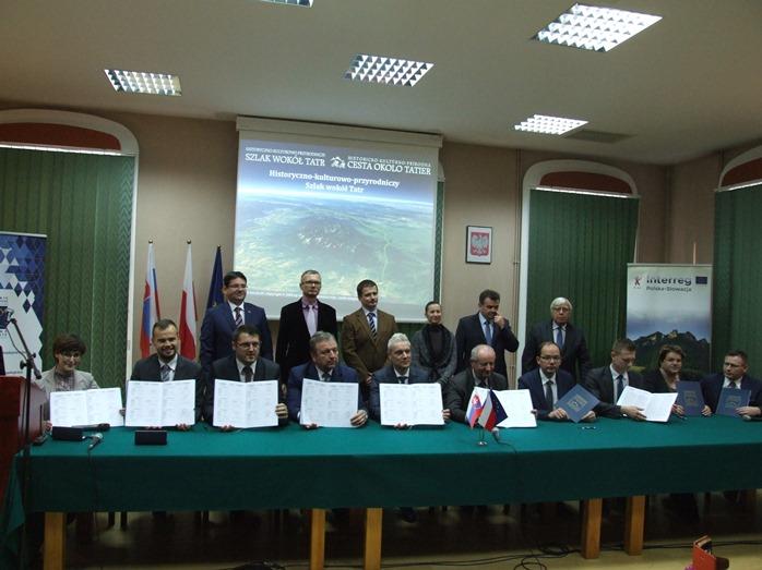 Umowa na realizację II etapu rowerowego Szlaku wokół Tatr podpisana