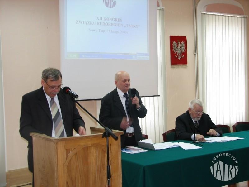 """XII Kongres Związku Euroregion """"Tatry"""""""