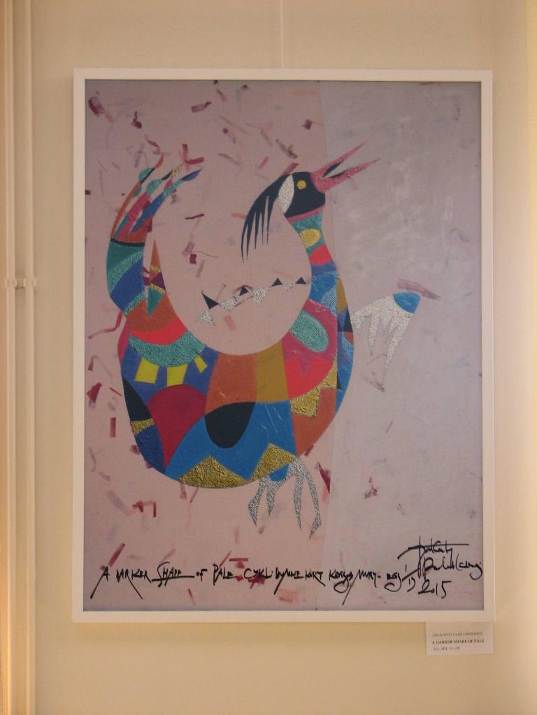 Zapraszamy na wystawę malarstwa żel-art Jana Kantego Pawluśkiewicza SPISKIE KURY KRUSZĄ MURY