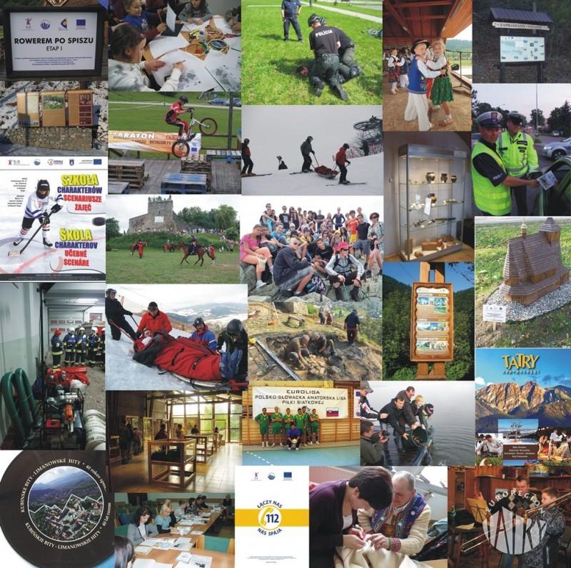 """Galeria mikroprojektów zrealizowanych w Euroregionie """"Tatry"""""""