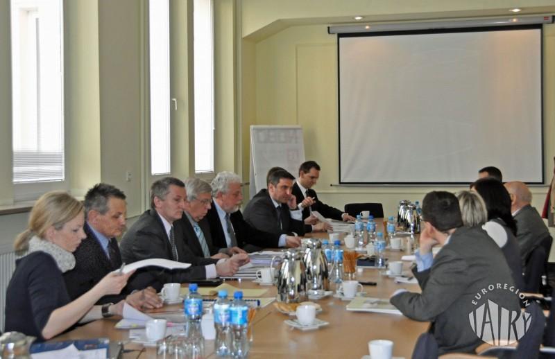 Spotkanie przedstawicieli Euroregionów z Podsekretarzem Stanu Ministerstwa Rozwoju Regionalnego Waldemarem Sługockim