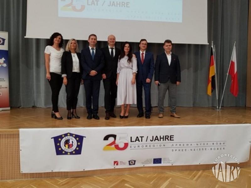 Jubileusz 25-lecia Euroregionu Sprewa-Nysa-Bóbr