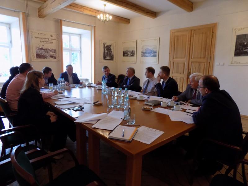 """Posiedzenie Rady Zwiazku Euroregion """"Tatry"""""""