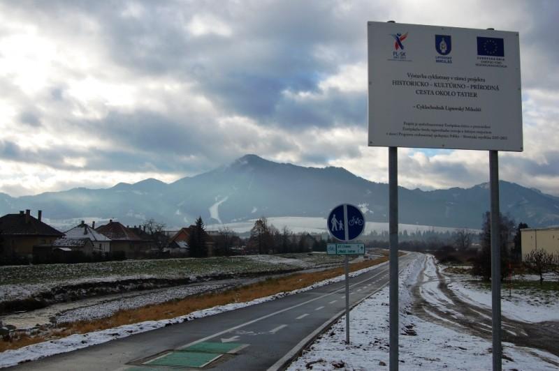 Uroczyste otwarcie ścieżki rowerowej w Liptowskim Mikulaszu