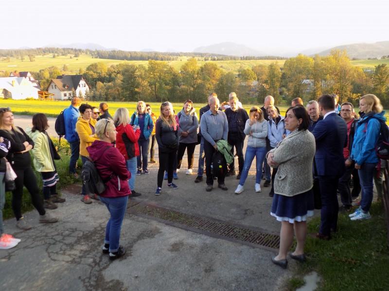 Wizyta studyjna przedstawicieli samorządów z polsko-słowackiego pogranicza