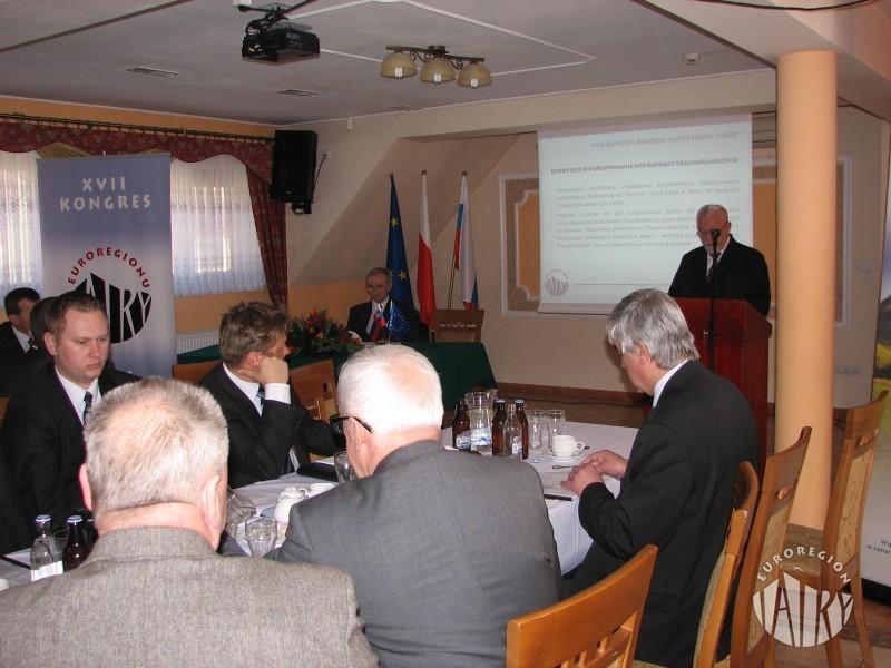 """XVII Kongres Związku Euroregion """"Tatry"""""""