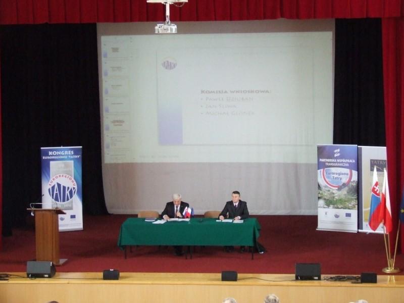 """XIX Kongres Związku Euroregion """"Tatry"""""""