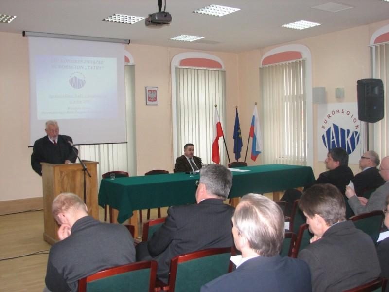 """XIII Kongres Związku Euroregion """"Tatry"""""""