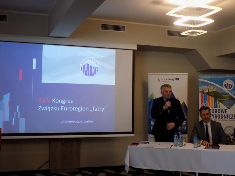 """Obrady XXIV Kongresu Związku Euroregion """"Tatry"""""""