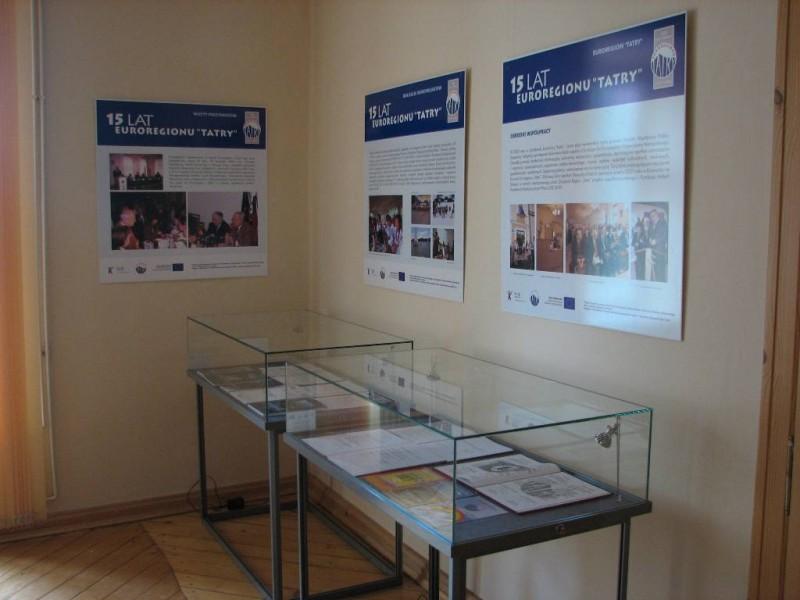 """Wystawa """"15 lat Euroregionu """"Tatry"""""""