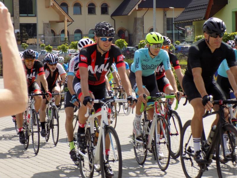 Wyniki pierwszego etapu polsko-słowackiego wyścigu rowerowego Euroregion Tatry Tour