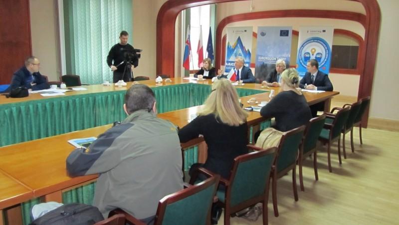 """Konferencja prasowa Związku Euroregion """"Tatry"""""""