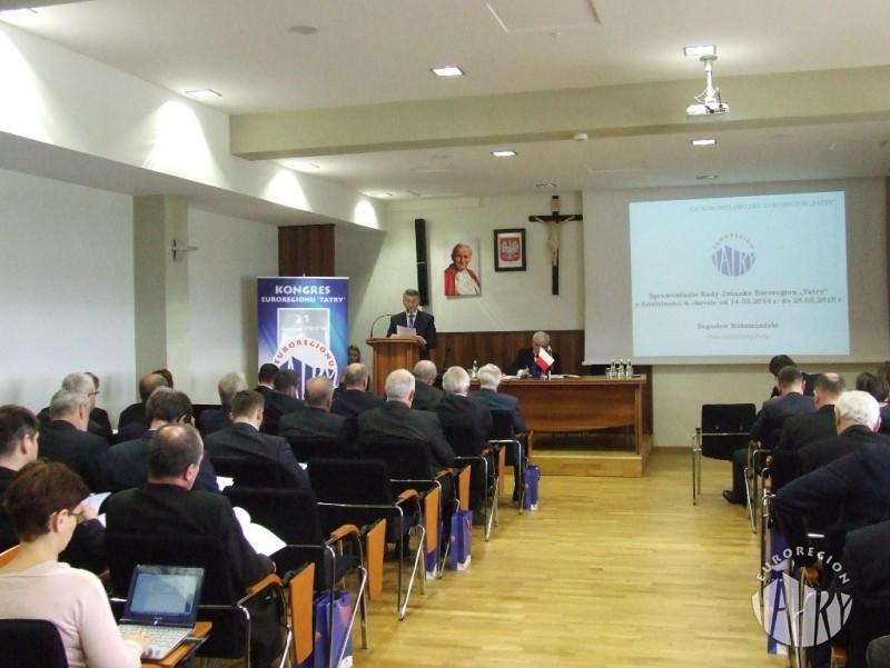 """Obrady XXI Kongresu Związku Euroregion """"Tatry"""""""