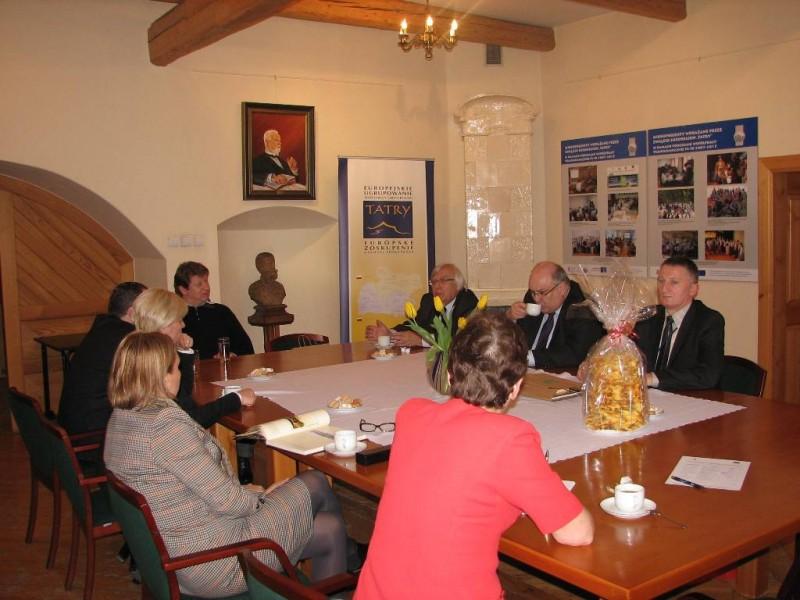 Spotkanie z przedstawicielami polsko-litewskiego Euroregionu Niemen