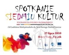 Prezentacja tradycyjnego rzemiosła, folkloru i kuchni siedmiu kultur pogranicza polsko-słowackiego na nowotarskim rynku
