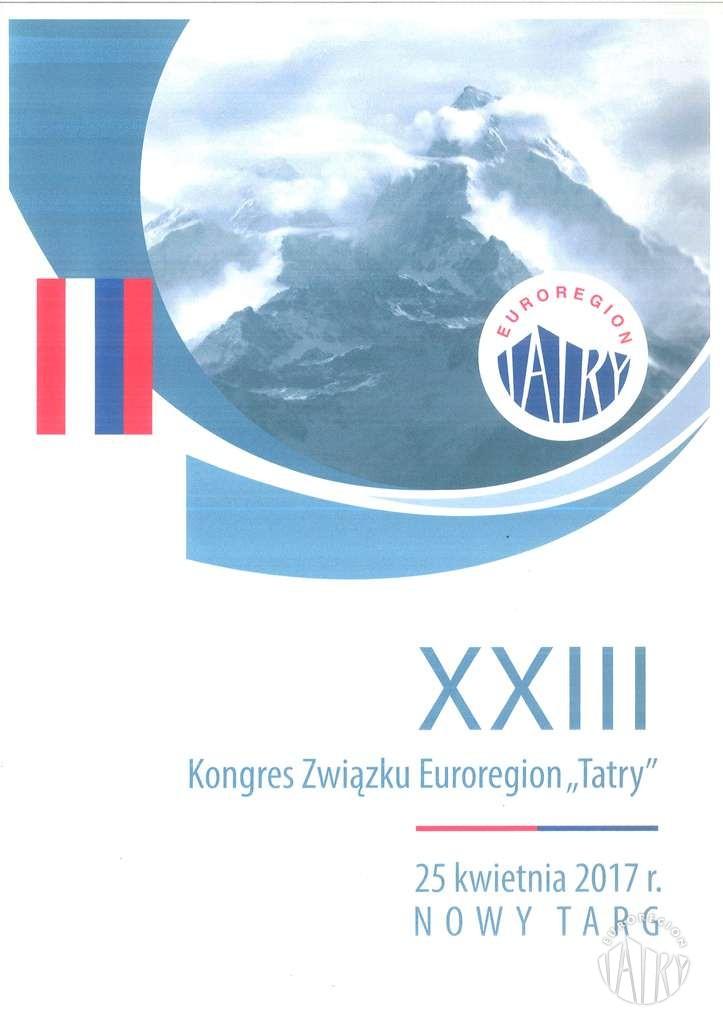 """XXIII Kongres Związku Euroregion """"Tatry"""""""