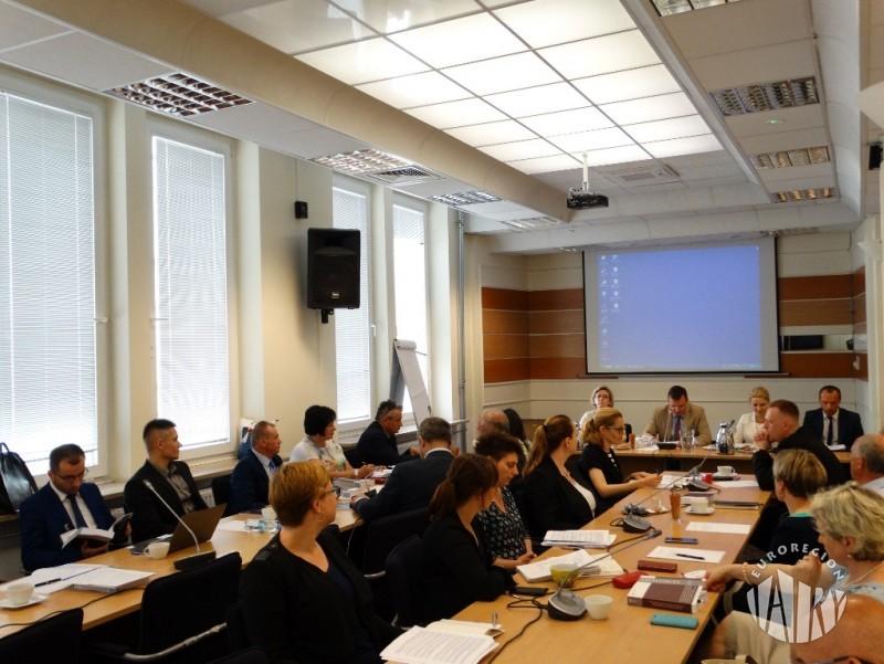 Spotkanie przedstawicieli Euroregionów z Podsekretarzem Stanu w Ministerstwie Rozwoju Adamem Hamryszczakiem