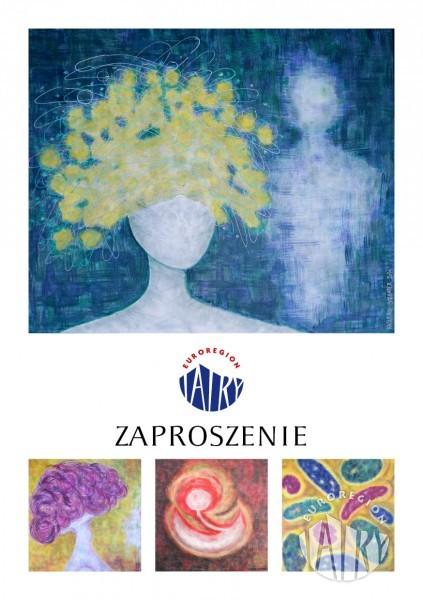 Zaproszenie na wernisaż wystawy malarstwa Katariny Schroetterovej