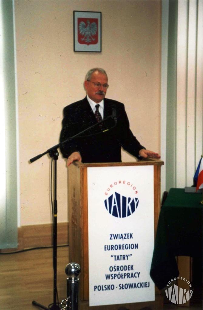 Wizyta Prezydenta Republiki Słowackiej Ivana Gasparovicza w Ośrodku Współpracy Polsko-Słowackiej w Nowym Targu