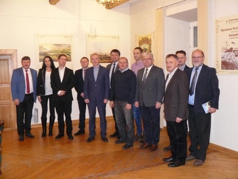 Wyjazdowe posiedzenie członków Stowarzyszenia Samorządowego Ziemi Cieszyńskiej