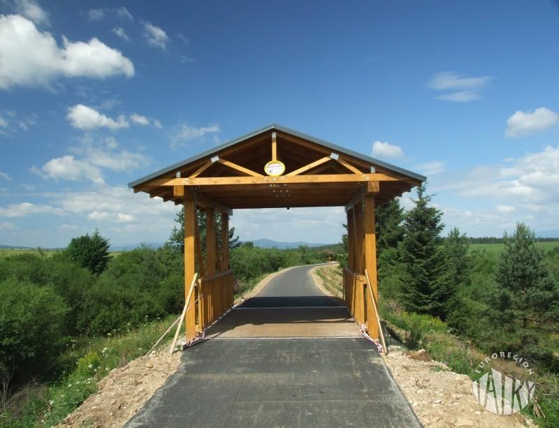 Trzy nowe mosty na trasie rowerowej na Słowacji