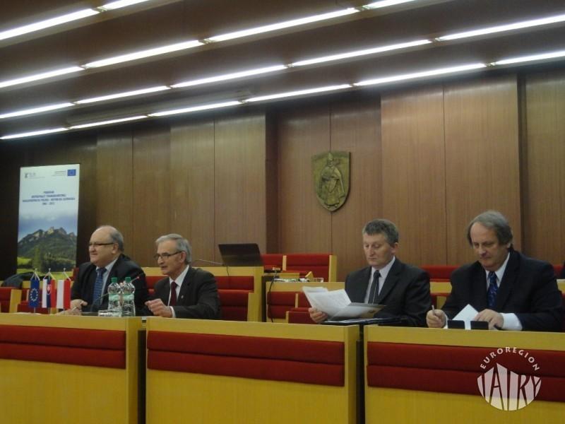 """Obrady XVIII Kongresu Transgranicznego Związku Euroregion """"Tatry"""""""