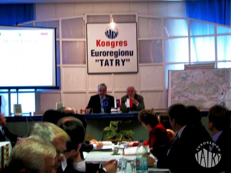 """XVI Kongres Transgranicznego Związku Euroregion """"Tatry"""""""