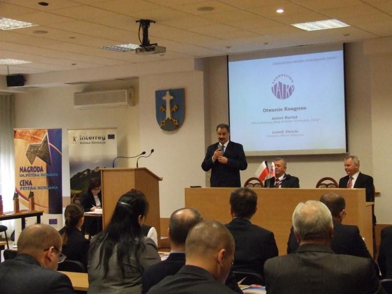 """Obrady XXII Kongresu Związku Euroregion """"Tatry"""""""