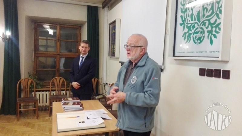 """Promocja książki Mieczysława J. Adamczyka pt. """"Karpaty Polskie. Przyroda, człowiek - karty z przeszłości"""""""
