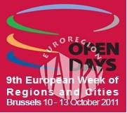 """Udział przedstawicieli Euroregionu """"Tatry"""" w Open Days 2011"""