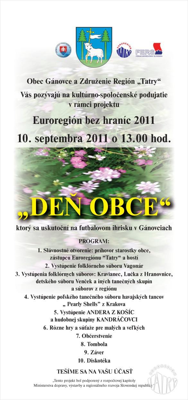 """""""Euroregion bez granic"""" w Ganovcach"""