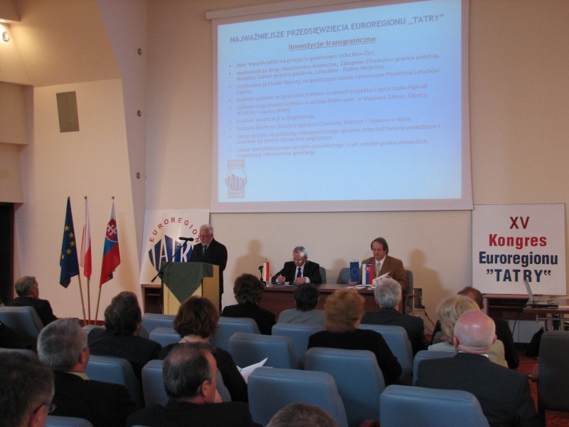 """XV Kongres Transgranicznego Związku Euroregion """"Tatry"""""""