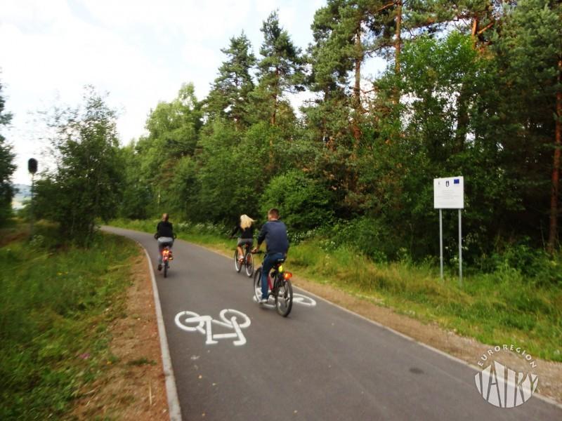 Pomiar natężenia ruchu rowerowego na Szlaku wokół Tatr