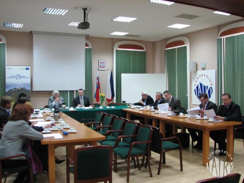 """Posiedzenie Rady Związku Euroregion """"Tatry"""" 30.03.2011"""