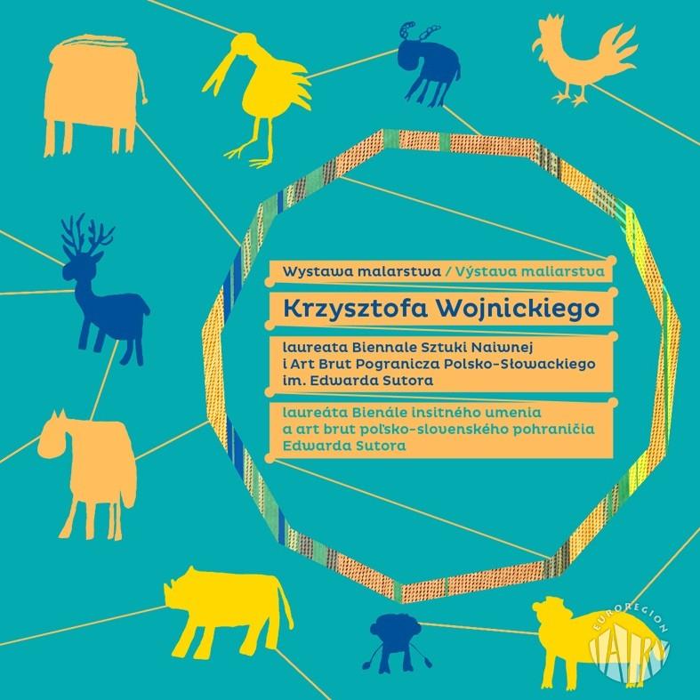 Katalog wystawy malarstwa Krzysztofa Wojnickiego