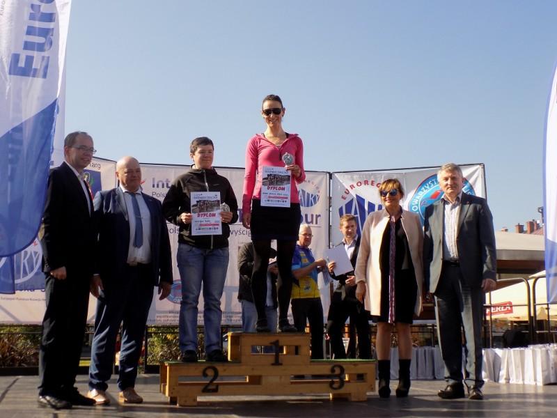 Zakończenie pięcioetapowego polsko-słowackiego wyścigu rowerowego Euroregion Tatry Tour