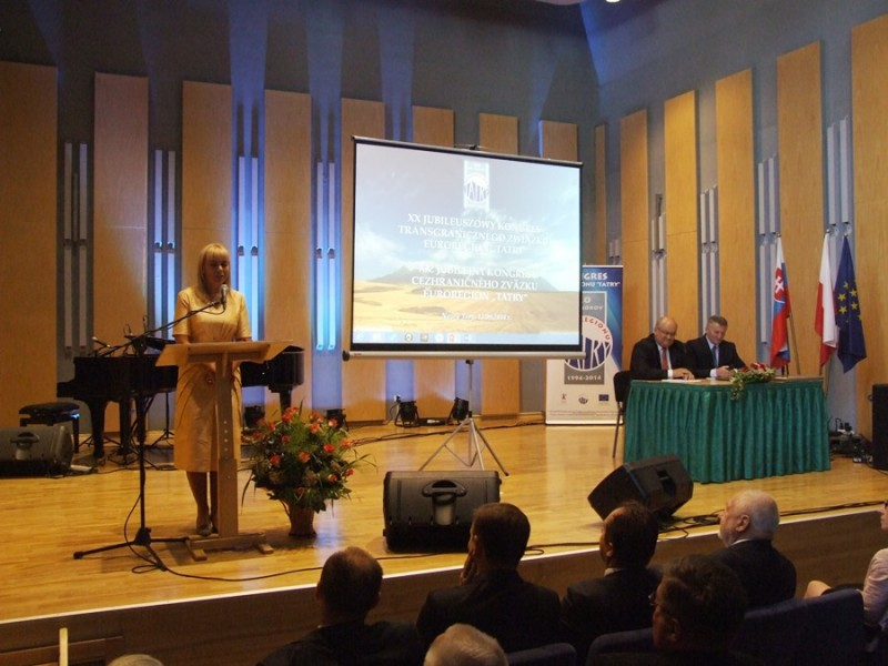 """20 lat Euroregionu """"Tatry"""" - jubileuszowy Kongres w Nowym Targu"""
