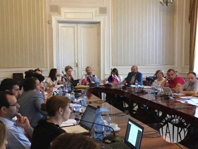 Pierwsze posiedzenie Grupy Roboczej ds. projektu Programu Współpracy Transgranicznej Interreg Polska-Słowacja 2021-2027.