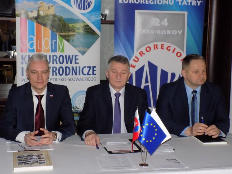 """Obrady XXIII Transgranicznego Kongresu Euroregion """"Tatry"""""""