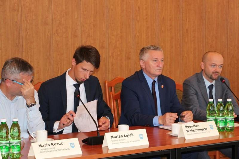 Posiedzenie Polsko-Słowackiej Podgrupy Roboczej ds. transgranicznych połączeń komunikacyjnych