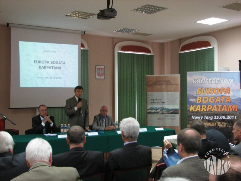 Konferencja EUROPA BOGATA KARPATAMI