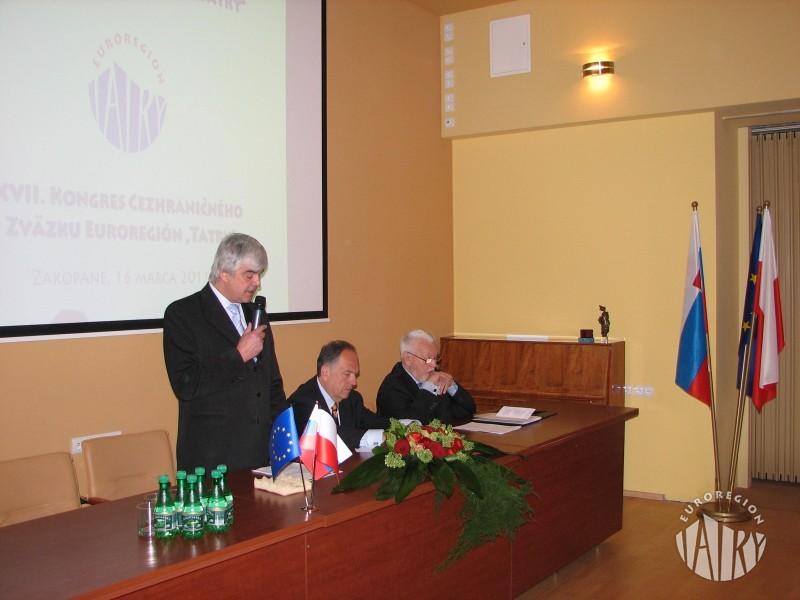 """XVII Kongres Transgranicznego Związku Euroregion """"Tatry"""""""