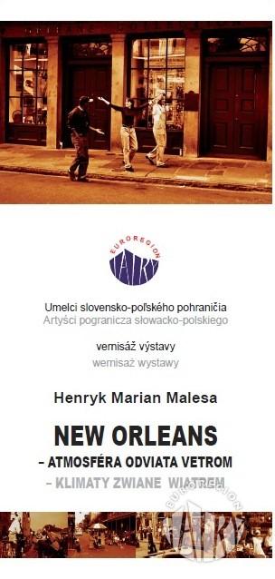 """Wystawa fotografii Henryka Malesy """"Nowy Orlean - klimaty zwiane wiatrem"""""""